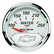 Auto Meter For 2-1/16 Water Temperature 100-250°f Air-core Vintage 1337-00408