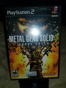 Metal Gear Solid Snake Eater Ps2 Brand New Factory Sealed Extremely Rare Y Fold