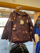 Womenand039s Clemintine Tri-climate Jacket Color Root Beer Print Size Large