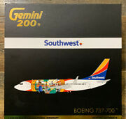 New Gemini Jets 1200 Scale Southwest Airlines 737-700 Florida One G2swa914