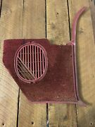 1965-1966 Chevy Impala Convertible Belair Right Vent Kick Panel Non A/c Biscayne