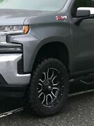Rough Country Rims And Toyo Mud Terrain Tires For Chevy Silverado.
