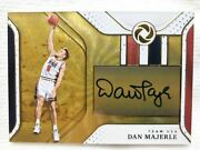 Gold Parallel/25 Top-of-the-line Direct Writing Usa Auto Dan Majerle Signature