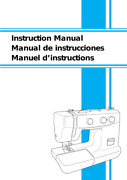 Brother Xl5130 Xl5232 Xl5340 Sewing Machine Users Guide Instruction Manual