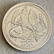 2014 Isle Of Man - 1oz Silver Angel - Bu - Andnbspw/certificate Of Authenticity