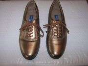 Easy Spirit Jp Motion Size 6b Anti Gravity Gold Leather Uppers Oxfords Comfort