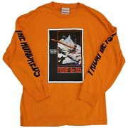 The Hundreds X Friday The 13th Limited Edition Long Sleeve T Shirt Size L