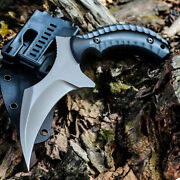 Outdoor Camping Tactical Claw Knife Hunting Edc Sharp Self-defense Combat Knifes