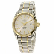 Omega Seamasteraqua Terra Watches 2317.3 Stainless Steel/ssx18k Yellow Gold Mens