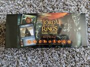 Lotr Lord Of The Rings Tcg - War Of The Ring Wotr Anthology Box Sealed