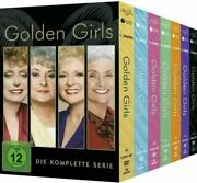 The Golden Girls Complete Series Season 1-7 Dvd 21-discbox Set New And Sealed