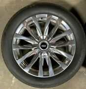 2021 Cadillac Escalade Platinum Oem 22 Polished Wheels And Tires With Tpms
