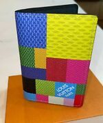 Authentic Louis Vuitton Multicolor 3d Pocket Organizer Extremely Limited N60432
