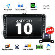 Ga9453 For Vw Volkswagen Jetta Rcd210 8 Android 10 Car Stereo Dvd Gps Bluetooth