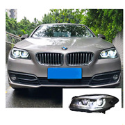 For Bmw 5 Series F18 Led Headlights Led Drl 11-17 Replace Oem Halogen Sequential
