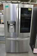 Lg Lrfvc2406s 35 Stainless Counter Depth French Door Refrigerator 109945