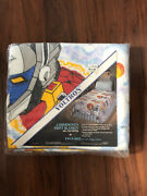 Vtg 80s Voltron Print Blanket Twin Size New Old Stock In Package Made By Chatham