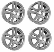 4 Qty - Replacement New 17 2007 2008 2009 2010 Ford Edge Alloy Wheel Rim 3672