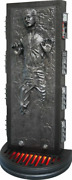 Star Wars Han Solo Carbonite Life Size Statue W/ Lights Limited Edition Prop
