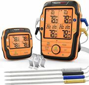 Thermopro Tp27 500ft Long Range 4 Probes Wireless Meat Thermometer For Grilling