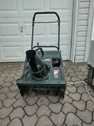 Snow Blower Craftsman 22and039and039 Electric Start Read Description Pickup Only
