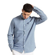 Superdry Menand039s Classic University Oxford Shirt Pn M4010357a
