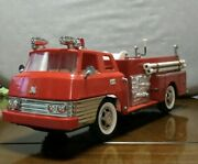 Fire Engine Old Tin Toys Rare Antique Toys From Japan