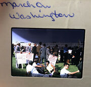 29 Kodak Color Slides Great March On Washington August 28, 1963 I Have A Dream