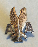 Vintage American Airlines Sterling Silver Captains Hat Pin 1950's - 60's Rare