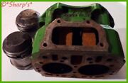 John Deere 50 Power Block With Pistons And Rings 5 Bore Hard To Find Kit