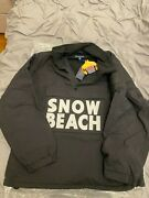 🔥polo The Black And White Collection Snow Beach Pullover Size Xxl🔥