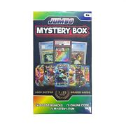 Pokemon Mystery Jumbo Box 5 Packs Factory Sealed Boosters / Graded Cards