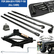 Replaced Kit Tools Set For Ford F-150 2010 2011 And Scissor Jack Heavy Duty Steel