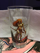 Ultrarare Toon Tumbler Limited Edition Nycc Glass Angela Guardians Of The Galaxy