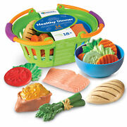Learning Resources New Sprouts Healthy Dinner Play Foo Ages 18 Mos+ Ler9742
