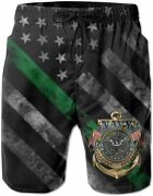Hocloce Veterans Mens Swim Trunks, Beach Board, Shorts Bathing Suits, Party Beac