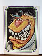 Vintage Trading Card. 1985 Garbage Pale Kids 7 Ned The Negotiator Tc103