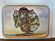 Vintage Trading Card. 1985 Garbage Pale Kids 40 Gavin The Goof-off Tc103