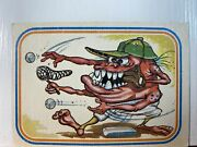 Vintage Trading Card. 1985 Garbage Pale Kids 6 Paul The Pitcher Tc103