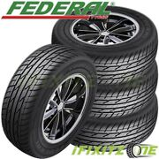 4 New Federal Couragia Xuv P265/65r17 112h All Season Suv Touring Highway Tire