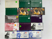 Lot Of 15 1980-2005 United States Us Mint Uncirculated Coin Sets