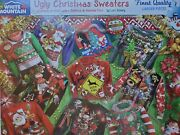White Mountain Ugly Christmas Sweaters 1000 Piece Jigsaw Puzzle - Brand New