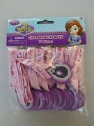 Sofia The First Disney Princess Kids Birthday Party Favor Charm Necklaces Amulet