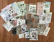 Stamps And Dies Sets Bundle Assorted Brands Dovecrafts, Sizzix And More