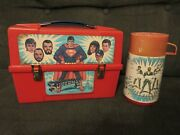 1980 Superman Ii Plastic Lunchbox And Thermos By Aladdin