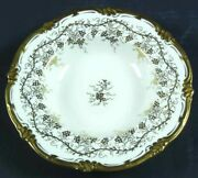 Extremely Rare Royal Cauldon Kings Plate Rimmed Soup Bowl. Excellent Condition