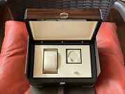 Very Rare New 100 Authentic Patek Philippe Inner Wooden And Outer Cardboard Box