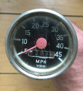 Puch Magnum X Motorcycle Vdo Speedometer With Speedo Drive And Cable And Bracket