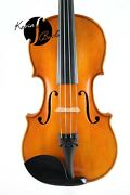 4/4 French Unlabelled Mirecourt School Circa 1930 With Case Violin Fiddle