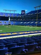 3 Ravens- Vikings November 7th 142 Row 8 - Refund If Game Is Cancelled
